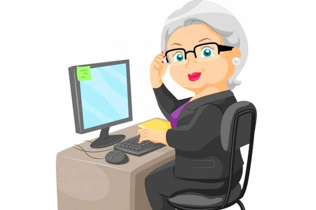 интернет-профессии для пенсионеров