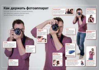 Начинающий фотограф с чего начать: как держать фотоаппарат